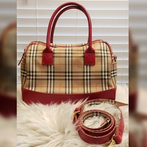 Burberry Nova Check 2 way handbag